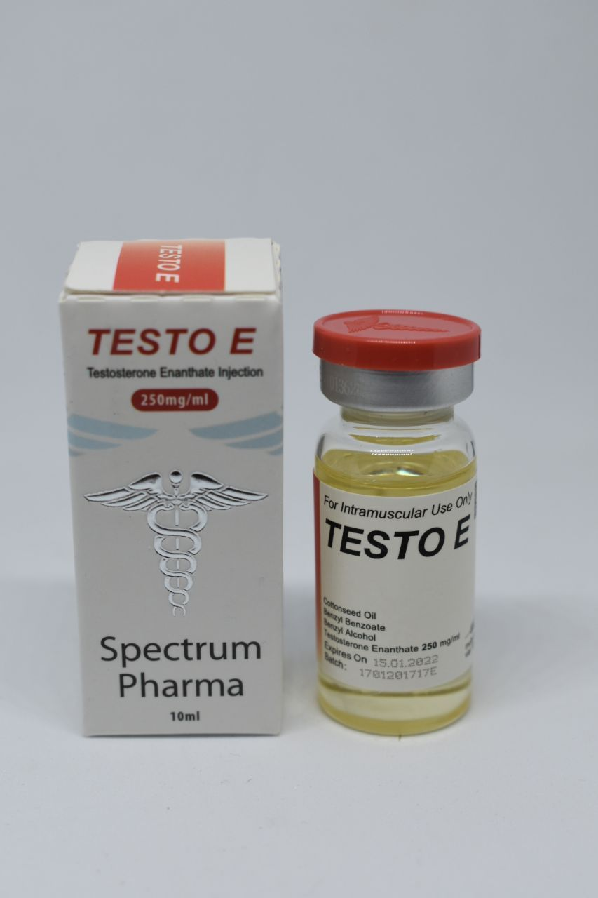 Testo E Spectrum Pharma 250mg/ml