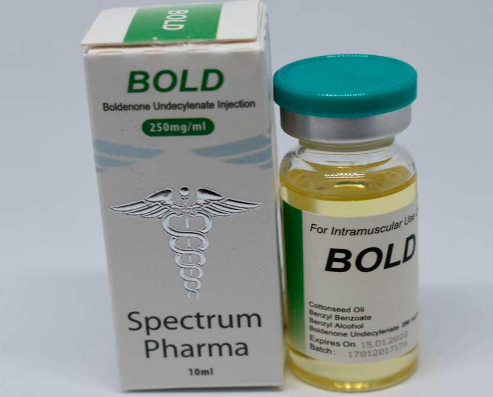 USA domestic BOLD Spectrum Pharma 250mg, 10ml