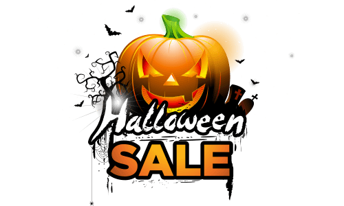 halloween sale on steroids in US