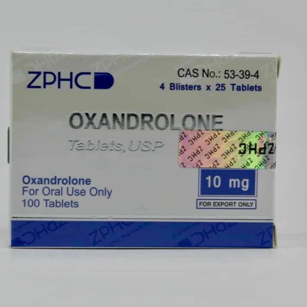USA DOMESTIC Oxandrolone ZPHC 10mg, 100tabs