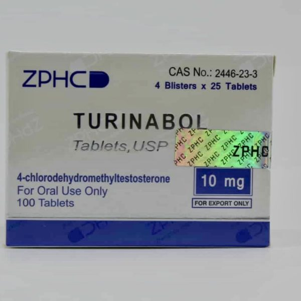 USA Domestic Turinabol ZPHC 10mg, 100tabs