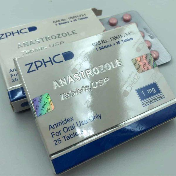 Anastrozole ZPHC 1mg, 25tab (USA Domestic)