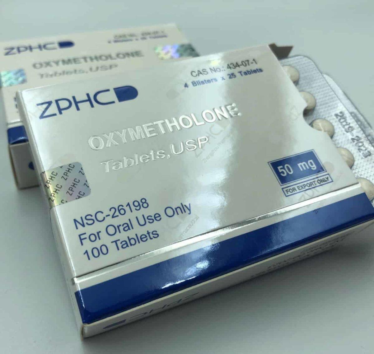 USA Domestic Oxymetholone ZPHC 50mg, 100tabs