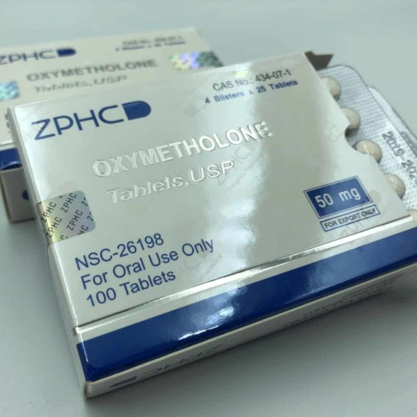 USA Domestic Oxymetholone ZPHC 50mg, 100tabs