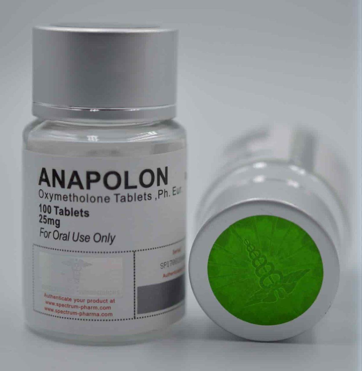 USA Domestic Anapolon Spectrum Pharma 25mg